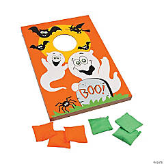 Large Halloween Bean Bag Toss Game