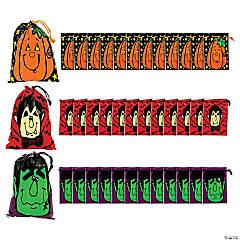 Large Halloween Drawstring Bags