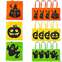 Large Iconic Halloween Tote Bags