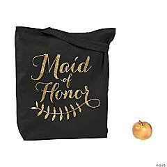 Large Maid of Honor Tote Bag