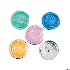 Large Milky Finish Snap Beads - 20mm