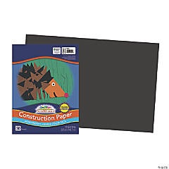 Large Pacon® Riverside® Construction Paper - Black