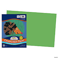 Large Pacon® Riverside® Construction Paper - Green