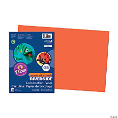 Large Pacon® Riverside® Construction Paper - Orange