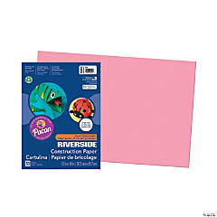 Large Pacon® Riverside® Construction Paper - Pink