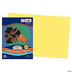 Large Pacon® Riverside® Construction Paper - Yellow