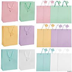 Large Pastel Gift Bags