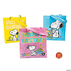 Large Peanuts® Easter Tote Bags