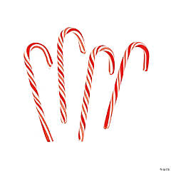 Large Peppermint Candy Canes