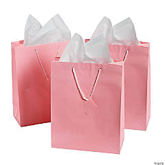 Large Pink Gift Bags