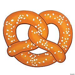 Large Pretzel Photo Prop