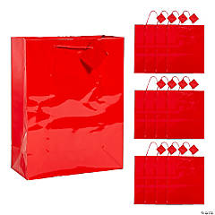 Large Red Gift Bags