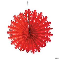 Large Red Snowflakes