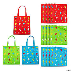 Large Religious Crosses Tote Bags