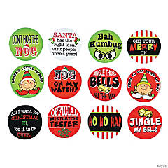 Large Sassy Christmas Buttons