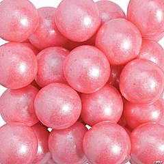 Large Shimmer Pink Gumballs
