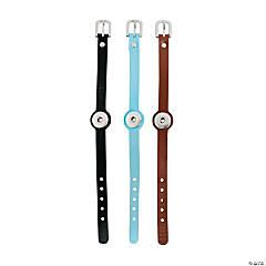 Large Single Snap Buckle Bracelets