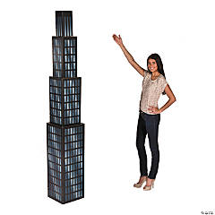 Large Skyscraper Cardboard Stand-Up