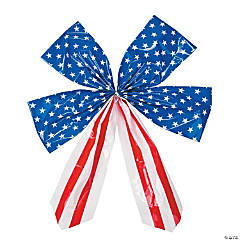 Large Stars & Stripes Bow