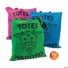 Large Totes Magotes Tote Bags