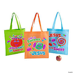 Large Truth & Treats Tote Bags
