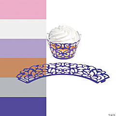 Laser-Cut Cupcake Wrappers