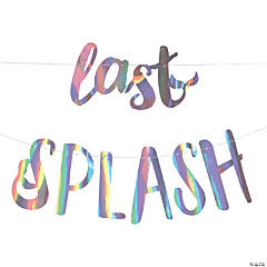 Last Splash Mermaid Bachelorette Garland
