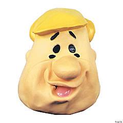 Latex Barney Rubble Mask