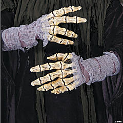 Latex Bone Hands With Gauze