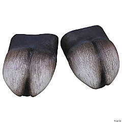 Latex Hooves Foot Covers for Adults