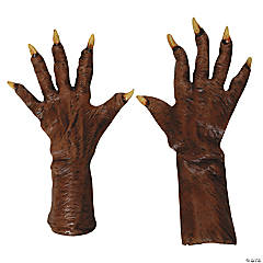 Latex Werewolf Gloves
