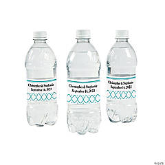 Lattice Water Bottle Labels