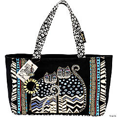 Laurel Burch Medium Tote Zipper Top 15.5