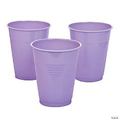 Lavender Plastic Tumblers