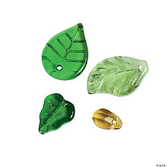 Leaf Bead Assortment - 9mm - 17mm x 6mm - 13mm