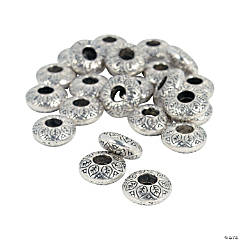 Leaf Beadable Spacers - 14mm