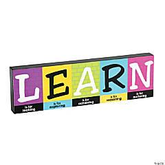 Learn Inspirational Décor Block