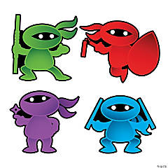 Learning Ninja Bulletin Board Cutouts