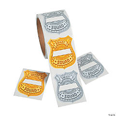 Learning Police Badge Name Tags/Labels