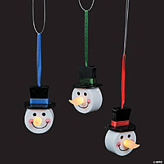 LED Snowman Ornaments