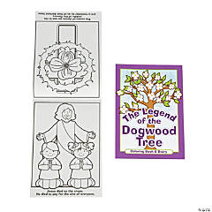 Legend of the Dogwood Tree Story Coloring Books