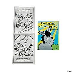 """Legend of the Donkey"" Coloring Books"