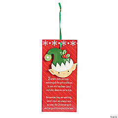 Legend of the Elf Christmas Ornaments
