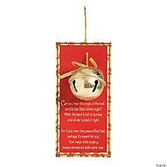 Legend of the Jingle Bell Christmas Ornaments with Card