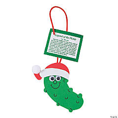 """Legend of the Pickle"" Christmas Ornament Craft Kit"