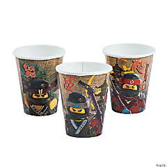 LEGO<sup>&#174;</sup> Ninjago<sup>&#174;</sup> Paper Cups