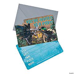 LEGO<sup>&#174;</sup> Ninjago<sup>&#174;</sup> Postcard Invitations