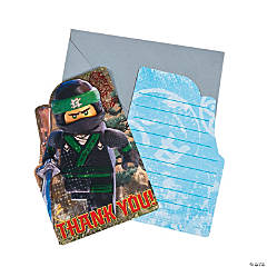 LEGO<sup>&#174;</sup> Ninjago<sup>&#174; </sup>Postcard Thank You Cards