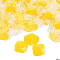 Lemon Candy Cubes