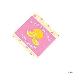 Lemonade Party Beverage Napkins